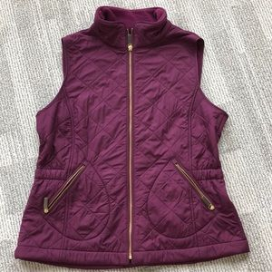 Like new Talbots quilted vest